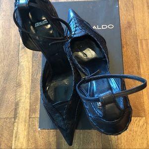 Aldo Leather Heels 👠